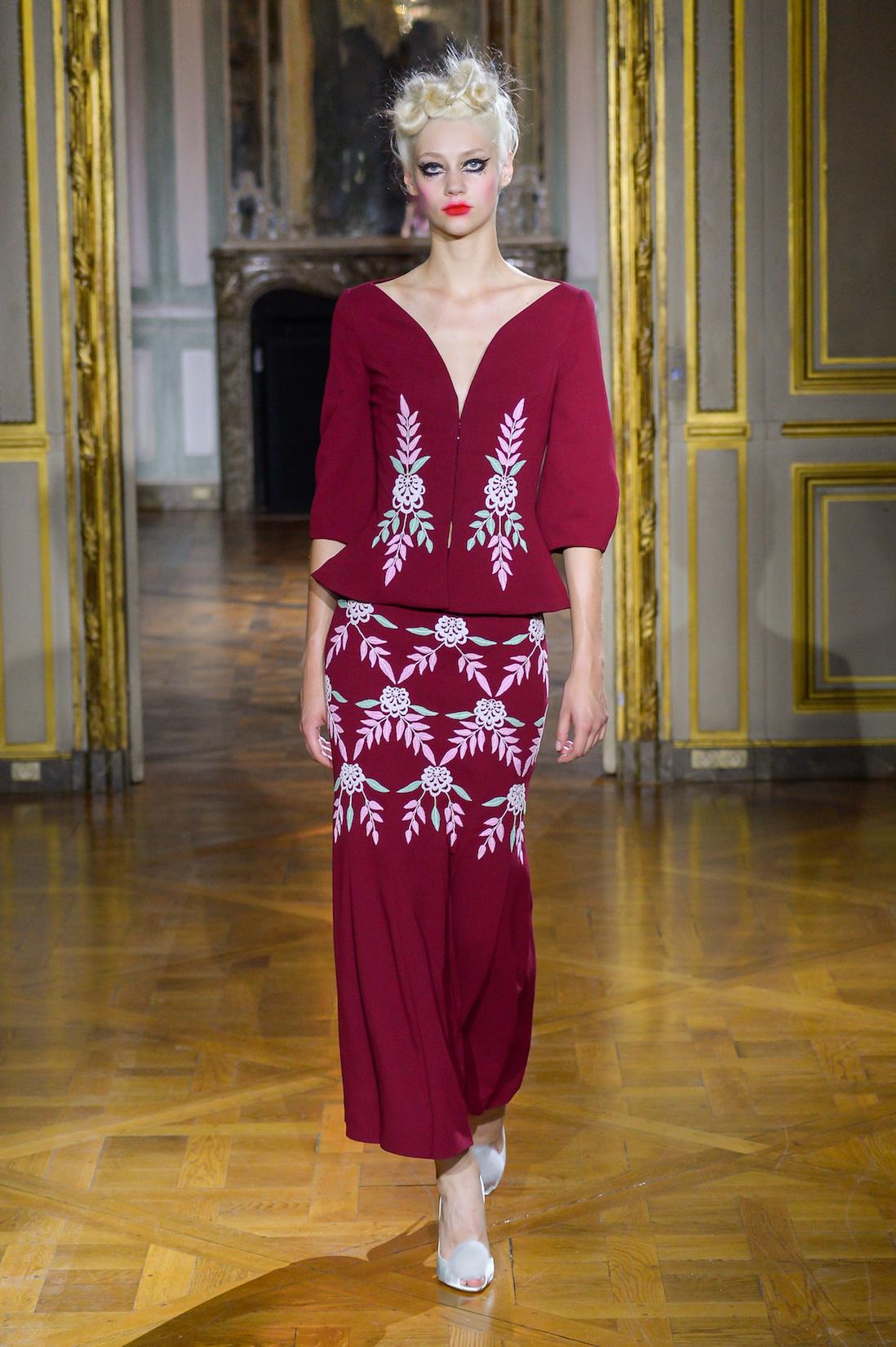 Ulyana Sergeenko Couture podzim - zima 2015/2016