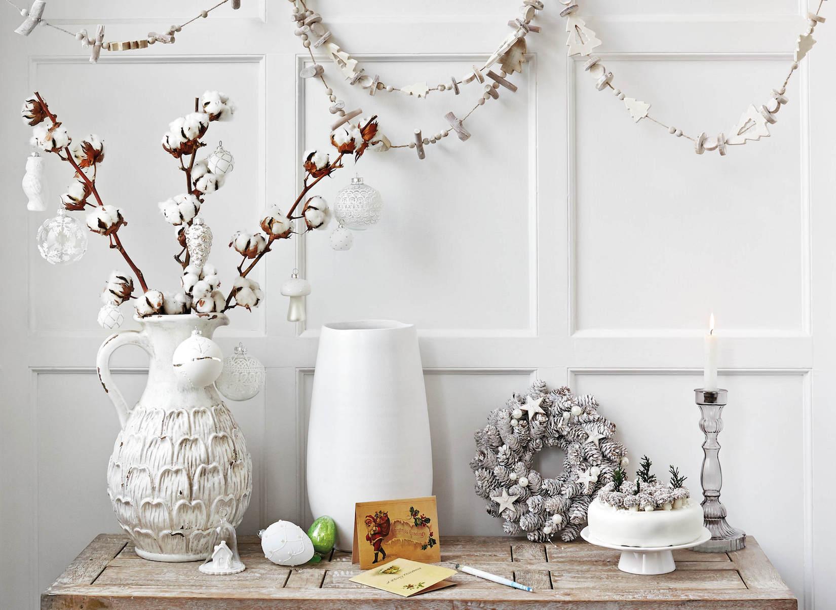 Bílé Vánoce.  foto: Home Sense