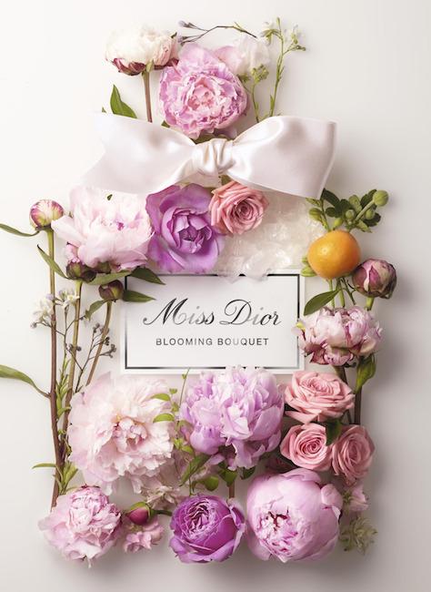 Dior: Miss Dior Blooming Bouquet - květinová toaletní voda s dominantními tóny růžových pivoněk a noblesní růže osvěžené kapkou sicilské mandarinky