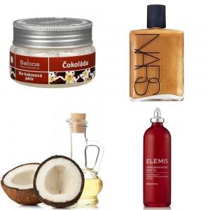 kokosovy-olej-saloos-nars-body-glow-elemis-frangipani-monoi-body-oil